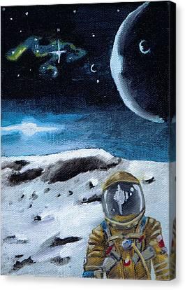 I Think I'm Lost Canvas Print by Chad Acuff