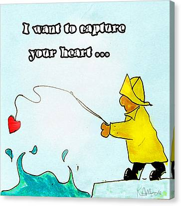 I Want To Capture Your Heart Canvas Print