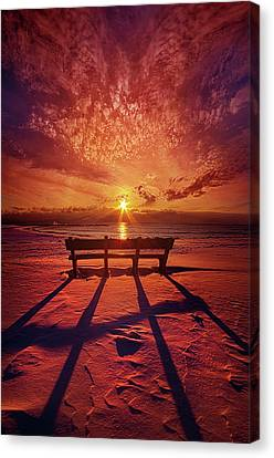 Canvas Print featuring the photograph I Will Always Be With You by Phil Koch