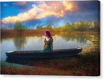 I Will Wait For You Canvas Print by John Rivera