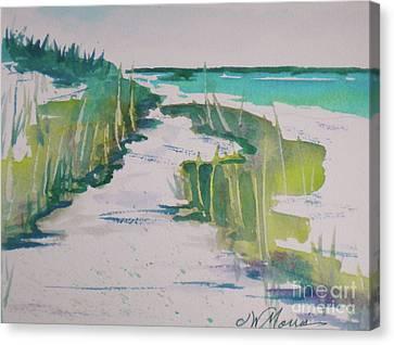 I Wish I Was In Siesta Key Canvas Print