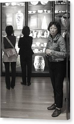 I Wonder What Is Out There Canvas Print by Jez C Self