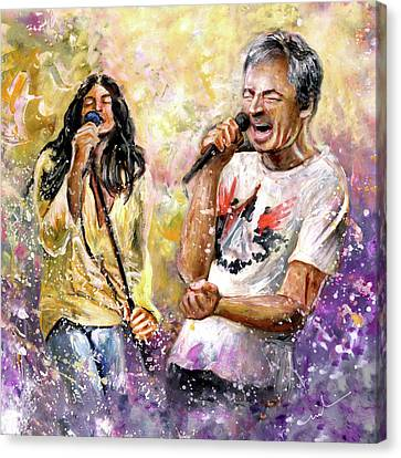 Ian Gillan Now And Then Canvas Print