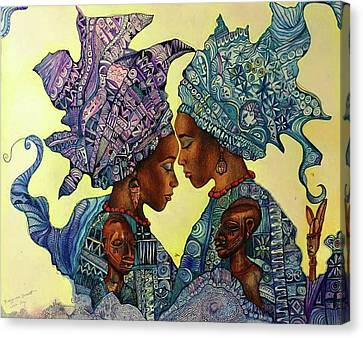 Ibeji Canvas Print