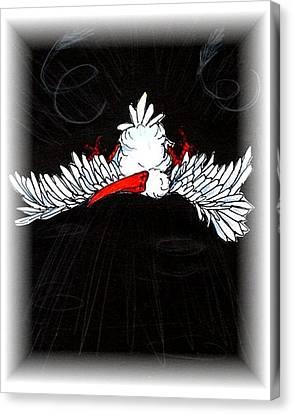 Ibis Down Canvas Print