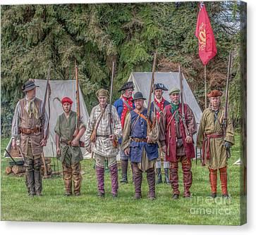 Ibwcp Proctor's Militia Canvas Print