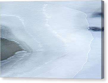 Ice Abstract 3 Canvas Print