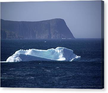Ice Berg Coast Canvas Print