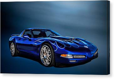 Ice Blue C5 Canvas Print by Douglas Pittman