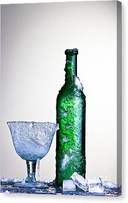 Ice Cold Drink Canvas Print by Dirk Ercken