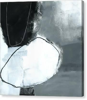 Ice Jam #1 Canvas Print by Jane Davies