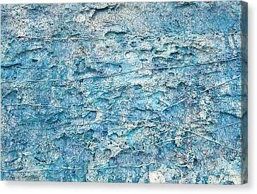 Canvas Print featuring the painting Ice Melt  # 22617 by Robert Anderson