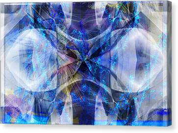 Ice Structure Canvas Print