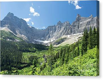 Iceberg Lake Trail - Glacier National Park Canvas Print