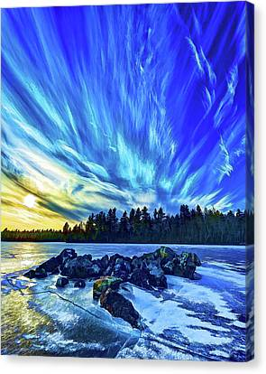 Abeautifulsky Canvas Print - Icebound 3 by ABeautifulSky Photography by Bill Caldwell