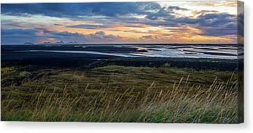 Canvas Print featuring the photograph Icelandic Coast by Brad Scott