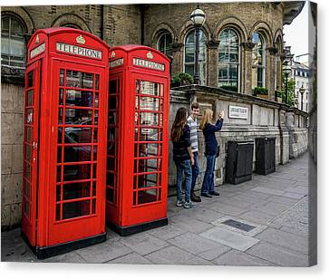 Canvas Print - Iconic Booth by Ric Schafer