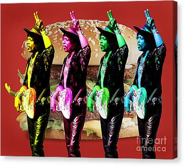 Iconic Experience Canvas Print by Keith Dillon