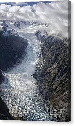 Icy Glacier Canvas Print by Patricia Hofmeester