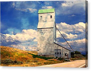 Idaho Grain Elevator Canvas Print
