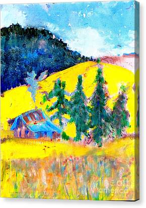 Idaho Idyll Canvas Print