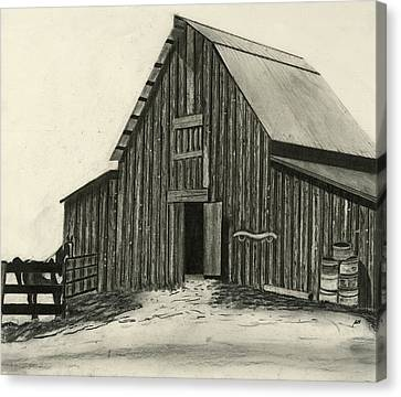 Idaho Warmth Canvas Print by Bryan Baumeister