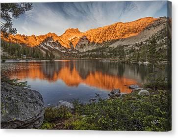 Splendor Canvas Print - Idaho Wilderness by Leland D Howard