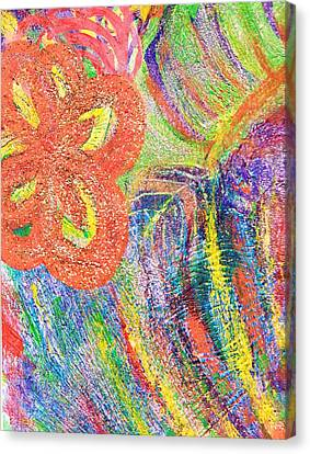 If Colors Were Sounds  Canvas Print by Anne-Elizabeth Whiteway