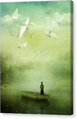 If Wishes Were Wings Canvas Print by Silas Toball