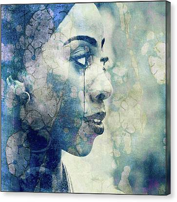 Canvas Print featuring the digital art If You Leave Me Now  by Paul Lovering