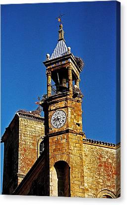 Iglesia De San Martin - Trujillo Canvas Print by Juergen Weiss
