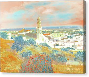 Canvas Print featuring the photograph Iglesia Del Salvador by Alfonso Garcia