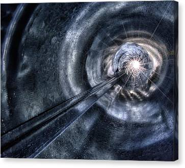 Canvas Print featuring the photograph Ignition by Mark Fuller