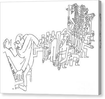 Igor Stravinsky (1882-1971) Canvas Print by Granger