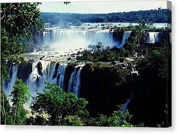 Iguacu Waterfalls Canvas Print