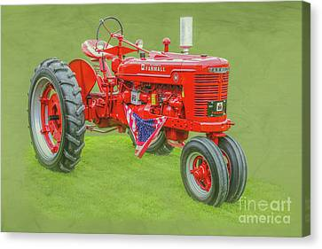 Ih Farmall Farm Tractor Canvas Print