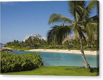 Ihilani Hotel Tropical Lagoon Canvas Print