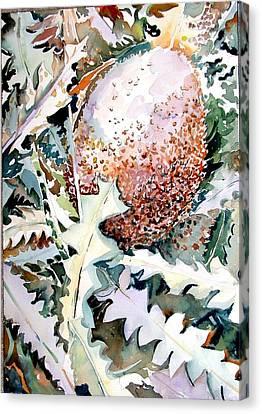 Ikabani Canvas Print by Mindy Newman