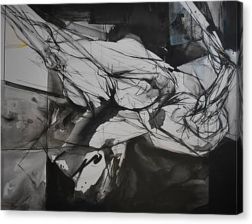 Ikarus Canvas Print by Mirjana Lucic