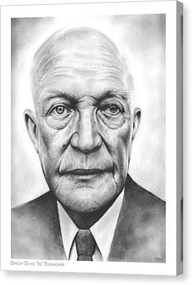 Ike Canvas Print by Greg Joens