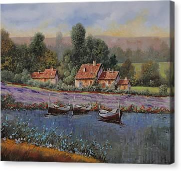 Il Borgo Tra Le Lavande Canvas Print
