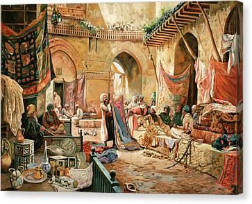 Il Mercato Canvas Print