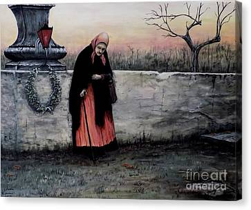 Il Monumento Canvas Print by Judy Kirouac