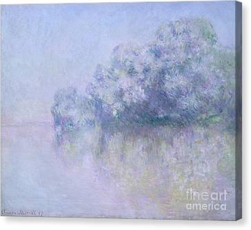 Ile Aux Orties Near Vernon, 1897  Canvas Print by Claude Monet
