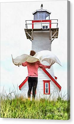 I'll Fly Away Canvas Print by Edward Fielding