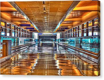 Terminal Canvas Print - I'll Get There by Dado Molina