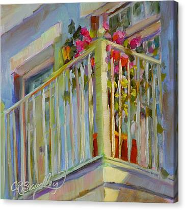 I'll Leave The Porch Light On Canvas Print by Chris Brandley