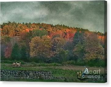 Artography Canvas Print - Ill Miss These Quiet Talks by AJ Yoder