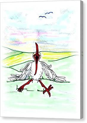 I'll Never Fly Again Canvas Print