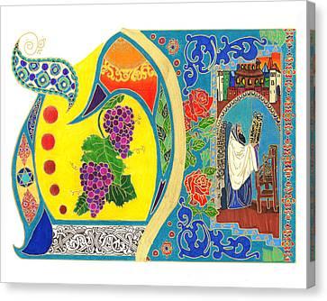 Illuminated Tet Canvas Print